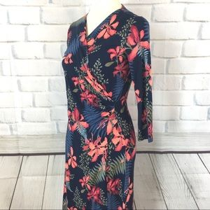 TOMMY BAHAMA Side Gathered Dress